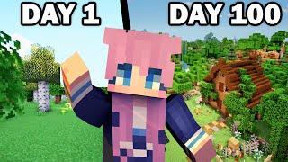 100 Days in a Minecraft World