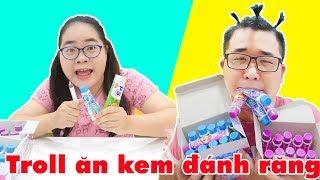 Ăn Vụng Kẹo Kem Đánh Răng Của Chị | Troll Em Trai Lười Đánh Răng & Cái Kết