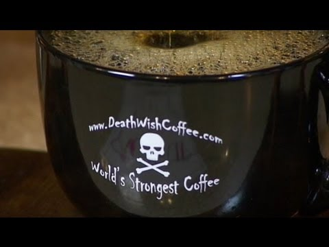 Death Wish Coffee Dubbed 'World's Strongest,' Has Twice the Caffeine