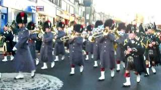 preview picture of video 'Argylls Homecoming Parade, Stirling'