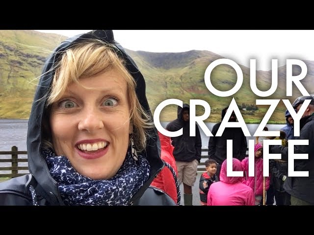 24 HRS WITH A HOMESCHOOLING/TRAVELING FAMILY OF 11: Traveling full-time w/9 kids