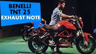 Benelli TNT 25 | Exhaust Note | PowerDrift
