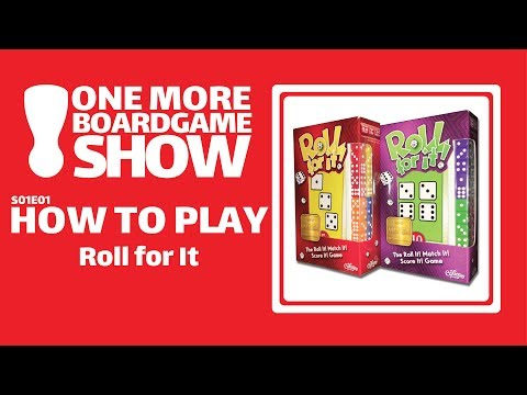One More Board Game Show How To Play Roll For It