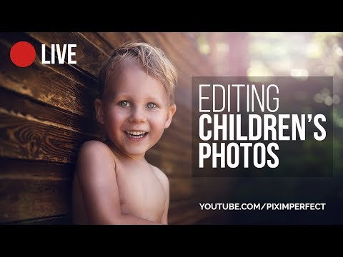 photo retouching tutorial for children photograph by piximperfect