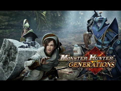 Видео № 1 из игры Monster Hunter Generations (Б/У) [3DS]