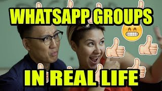 Whatsapp Groups In Real Life