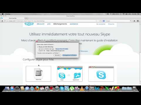 comment installer skype sur mac os x