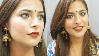 Image for video on Indian Makeup Look for Weddings | Indian Festival Makeup Tutorial by Urban Panache