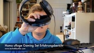 Hama uRage Gaming Set Erfahrungsbericht