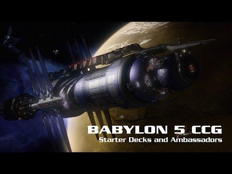 Babylon 5 CCG - Starter Decks and Ambassadors