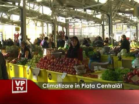 Climatizare în Piaţa Centrală!
