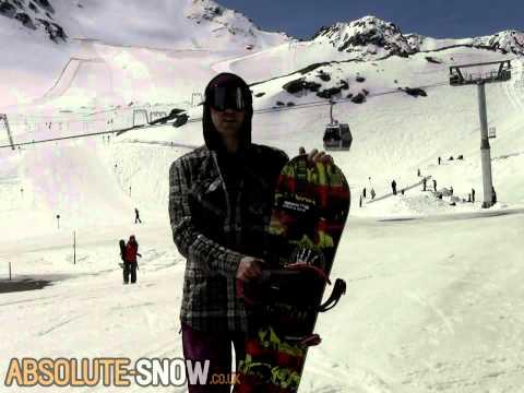 2012 Smokin Superpark Snowboard Review