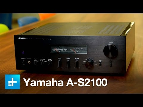 yamaha a s2100 integrated amp review video audiophilepure. Black Bedroom Furniture Sets. Home Design Ideas