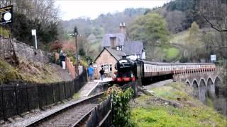GNR N2 1744 at Berwyn, 28th April 2012. Steel, Steam and Stars 3.