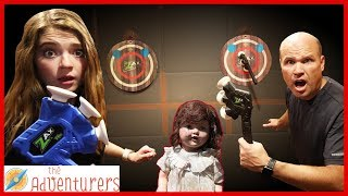 The DollMakers Battle Ax Challenge - Win or Stay Trapped / That YouTub3 Family I The Adventurers