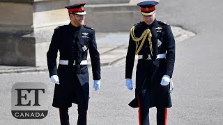 Prince Harry, Prince William Arrive At St. George