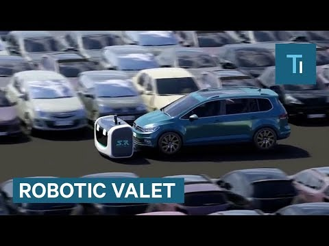 You don't have to tip this robot to valet your car