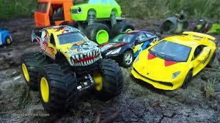 Cartone animato sulle automobili per bambini che sviluppano cartoni animati giocattoli per bambini