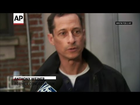 Former Rep. Anthony Weiner left a New York City halfway house on Tuesday after completing his prison sentence for illicit online contact with a 15-year-old girl. (May 14)