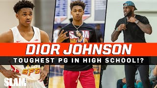 Dior Johnson is the TOUGHEST PG in High School!? 😤 LeBron James Favorite Point Guard