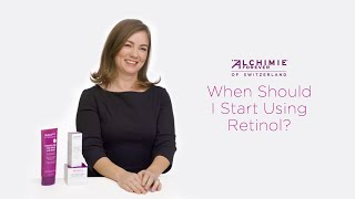 When To Start Using Retinol | Alchimie Forever