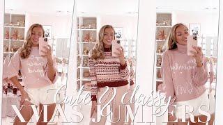 """Classy """"Ugly"""" Christmas Jumper Haul! ~ Freddy My Love"""