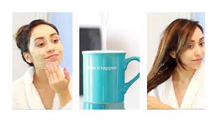 DIY Spa Day | Hair Mask, Facial, Body Scrub