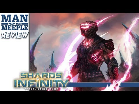 Shards of Infinity Review by Man Vs Meeple (Stone Blade Entertainment)