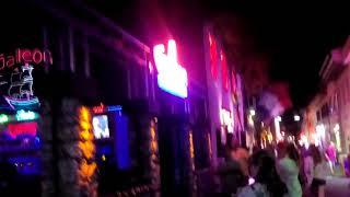 Marmaris Turkey Street bar night bar 2018