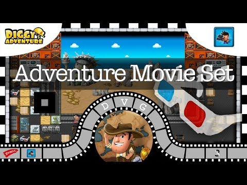 [~Movie Madness~] #3 Adventure Movie Set – Diggy's Adventure