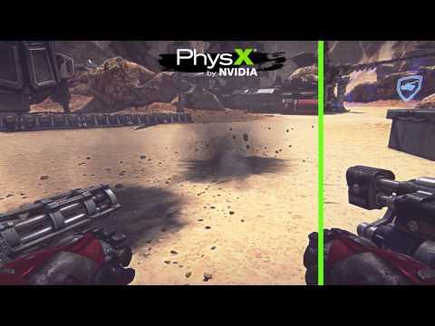 Enhanced PhysX Trailer