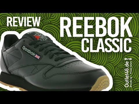 Reebok Classic CL der bequemste Sneaker? DEUTSCH Review l On Feet l Unboxing l Haul l Outlet46.de