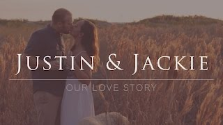 Jackie and Justin's Love Story Engagement Shoot at Clearwater Beach Florida