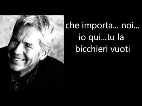 , title : 'Claudio Baglioni - Io Me Ne Andrei TestoLyrics'