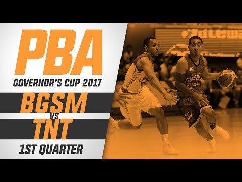 Semis G3: Ginebra vs. TNT – Q1 | PBA Governor's Cup 2017