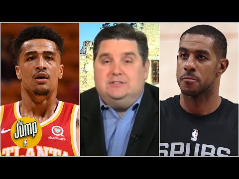 Brian Windhorst explains the trade market for John Collins and LaMarcus Aldridge | The Jump