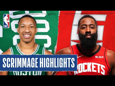 CELTICS at ROCKETS | SCRIMMAGE HIGHLIGHTS | July 28, 2020