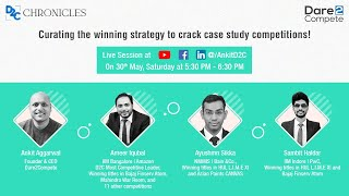 Curating the winning strategy to crack case study competitions
