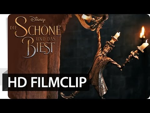 Die Schöne und das Biest - Filmclip: Verkuppler Lumiere   Disney HD