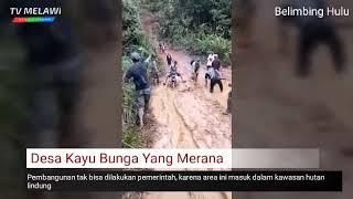 preview picture of video 'Beginilah kondisi Jalan di Pedalaman Melawi'