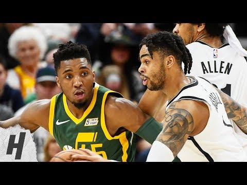 Brooklyn Nets vs Utah Jazz - Full Game Highlights | March 16, 2019 | 2018-19 NBA Season