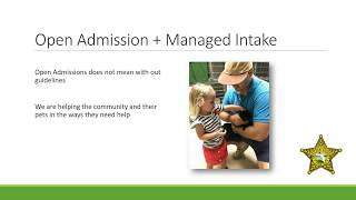 Intake Mitigation and Managed Intake - webcast