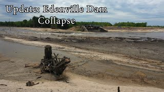 Update: Edenville Dam Collapse Wixom Lake Flood 2020 - Aerial