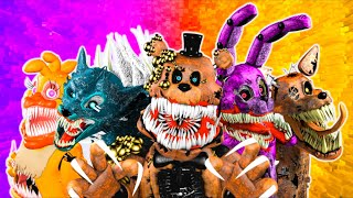 Every FNaF TWISTED Animatronic in a Nutshell
