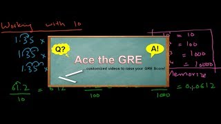 GRE Math Review Lesson 1/36 -- Basic Arithmetic that you need to know for GRE