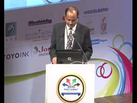 Print Summit 2013 : Speech by Govind Bhargava,President AIFMP