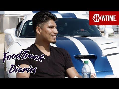 Mikey Garcia   Food Truck Diaries   BELOW THE BELT with Brendan Schaub