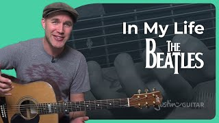 How to play In My Life by The Beatles (Guitar Lesson SB-406)