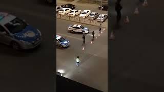 Толпа людей устроила беспорядки в Астане