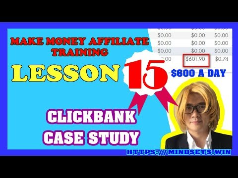 How To Make Money Online Fast 2018| Make Money Fast From Home Clickbank CASE STUDY| P15